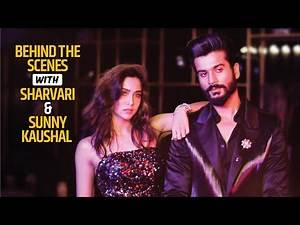 Behind The Scenes with The Forgotten Army Cast Sunny Kaushal and Sharvari | Filmfare Official