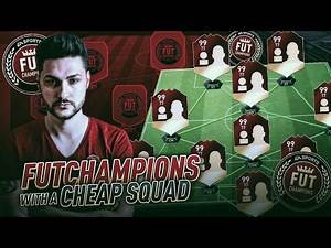 FIFA 17 UNBEATEN IN FUT CHAMPIONS WITH A CHEAP 50K SQUAD ? BEST FORMATION & TACTICS - THE KEY GAMES