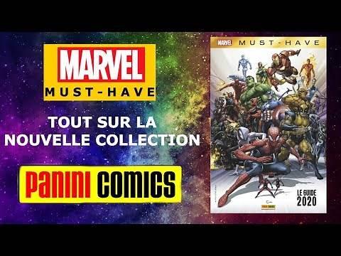 MARVEL MUST HAVE LA NOUVELLE COLLECTION DE PANINI COMICS
