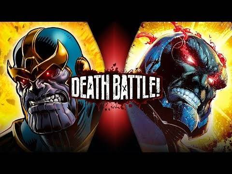 Thanos VS Darkseid (Marvel VS DC) | DEATH BATTLE!