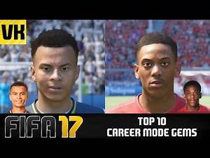 TOP 10 BEST YOUNG PLAYERS WITH HIGHEST POTENTIALS IN FIFA 17 CAREER MODE!