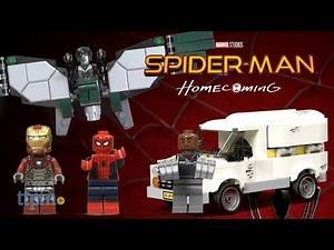 LEGO Marvel Super Heroes Spider-Man Homecoming Beware the Vulture set from LEGO