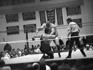 One of WALTER KILLER KOWALSKI's very last pro wrestling matches!!! vs Nikolai Volkoff