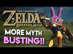 Busting MORE Myths in Breath of the Wild!! [15 Stats Questions ANSWERED!!]