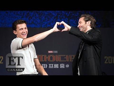 Tom Holland & Jake Gyllenhaal's 'Spider-Man' Bromance