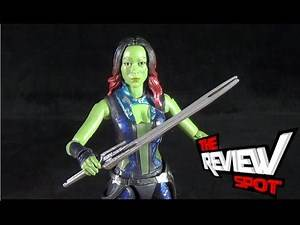 Toy Spot - Hasbro Marvel Legends Infinite Series Guardians of the Galaxy Gamora