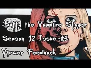 Buffy Season 12 Issue 3 Viewer Feedback
