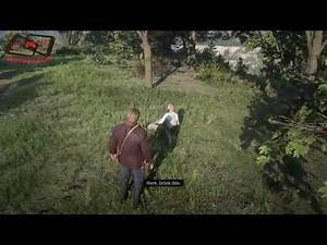 RDR2 chance encounters- Help stranger with a snake bite