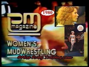 Miss Ruby Tuesday- Red Snapper Mud Wrestling On PM Magazine 1980