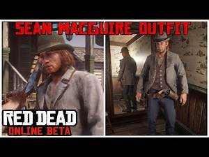 Sean Macguire Outfit Tutorial in the Red Dead Online Beta