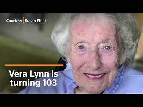 Vera Lynn releases new video at 103