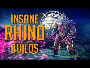 [WARFRAME] Insane RHINO Builds [OUTDATED - Updated Build in the Description]