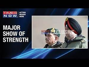 Strong message from Indian forces to China; Visuals of Army exercise in Eastern Ladakh