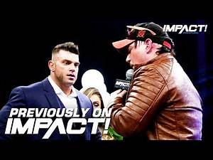 Witness the DISTURBING Cold Open for This Week's IMPACT!   IMPACT Wrestling First Look Oct 4, 2019