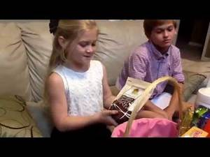 Happy Easter 2015- What Matthew & Marissa Got In Their Easter Baskets and an Easter Egg Hunt