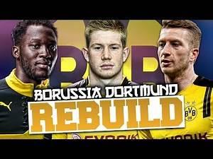 REBUILDING BORUSSIA DORTMUND!!! FIFA 17 Career Mode