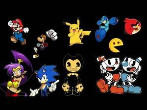 Video game characters theme songs