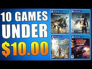 10 BEST PS4 GAMES under $10 - PS Plus Update (Playstation News) New PSN Sale & Deals