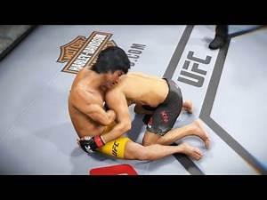 UFC Bruce Lee vs. Dong Hyun Kim a fight against a stun gun