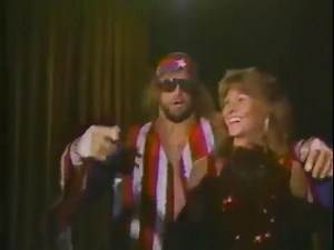 Randy Savage in action Championship Wrestling Sept 7th, 1985
