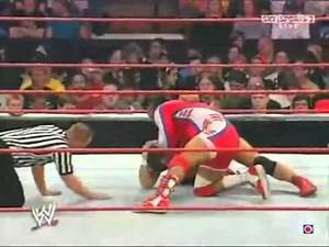 WWe Raw Draft 11 Juin 2007 MVP Vs Santino Marella