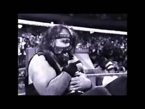 Undertaker vs Mankind Buried Alive Match 1996 Commecial