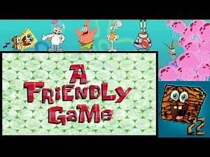 SpongeBob SquarePants Review: A Friendly Game