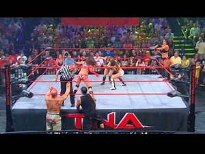 Rosita and Sarita vs. Madison Rayne and Tara