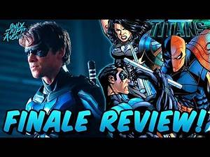 NIGHTWING is Born and a TITAN Falls! (DC Universe 2x13 Review)