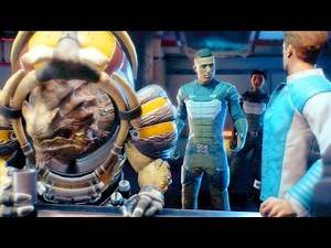 Mass Effect Andromeda Massive Bar Battle