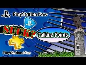 Is Playstation Plus Worth the Money & Does Playstation Now Suck? (Talking Points)