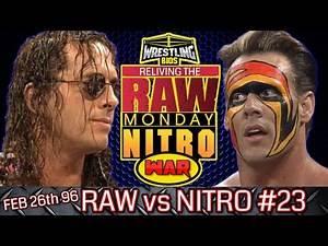 "Raw vs Nitro ""Reliving The War"": Episode 23 - Feb 26th 1996"