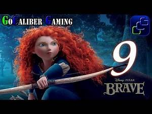 Disney Pixar's Brave: The Video Game Walkthrough - Part 9 - Buried Passage 100%