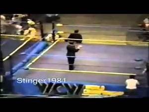 """WCW Strips """"The Nature Boy"""" Ric Flair of the WCW World Title (July,1991) [Rare Footage]"""