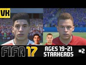FIFA 17: YOUNG PLAYERS REAL FACES/STARHEADS AGED 19 -21 (Bellerin, Kimmich, Iwobi + more) #2