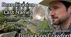 Scandinavian Last Names: Meanings