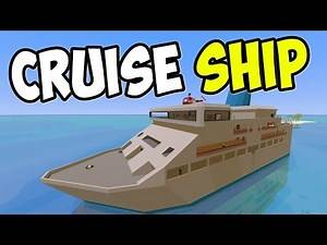 """UNTURNED - """"Luxury Cruise Ship!!"""" Episode 75 (Unturned Role-play Hawaii Playthrough)"""