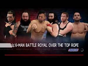 WWE 2K17 - Miz Vs Luke Harper Vs Bray Wyatt Vs Shinsuke Nakamura Vs Tye Dillinger Vs Dean Ambrose