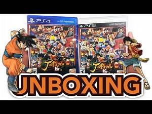 J-Stars Victory VS + (PS3 / PS4) Unboxing!!