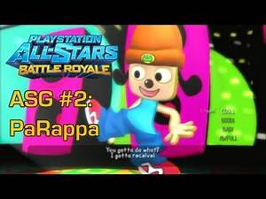 All-Star Guide #2: PaRappa - PlayStation All-Stars Battle Royale
