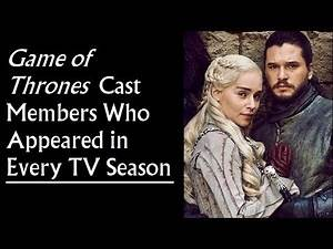 Cast Members Who Lived Through Every TV Season of Game of Thrones