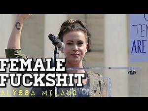 ALYSSA MILANO DEMANDS A #SEXSTRIKE #ALYSSAMILANOISALIE