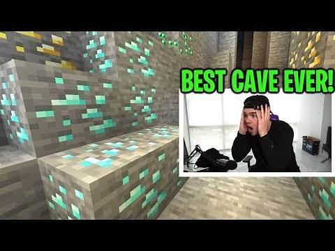 BEST MINECRAFT CAVE EVER! (minecraft ep.93)