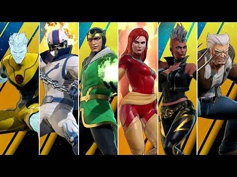 Marvel Ultimate Alliance 3 - All New Characters & Costumes (X-Men DLC)
