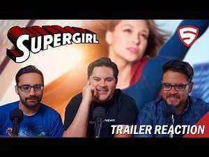 Supergirl - See Never-Before-Seen Footage Reaction!