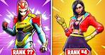 Top 10 SEASON 9 SKINS RANKED WORST TO BEST! (Fortnite)