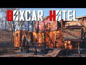 Fallout 4 Settlement Build: Boxcar Hotel