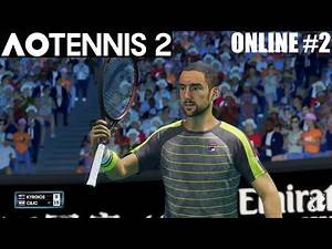 AO Tennis 2 - AUSSIES UNITE - Online #2 - PS4 Gameplay