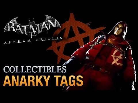 Batman: Arkham Origins - Anarky Tags [Voice of the People Achievement / Trophy]