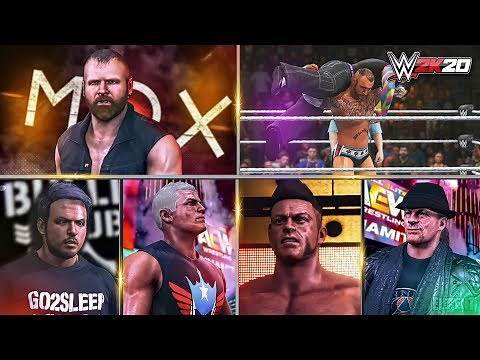 More Awesome WWE 2K20 Community Creations You Can Download Right Now